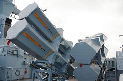 RBS 15 Mk3 auf BRAUNSCHWEIG (Foto: Diehl BGT Defence)