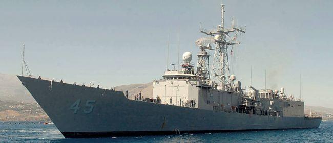 Marineforum - US-Fregatte DE WERT (Foto: US Navy)