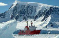 Marineforum - HESPERIDES in der Antarktis (Foto: span. Marine)