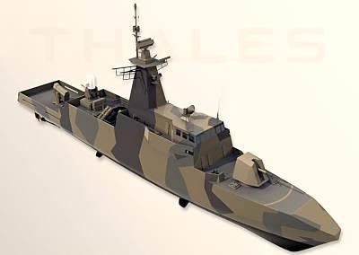 Marineforum - Neuere Grafik von AMBASSADOR Mk III (Grafik: Thales)