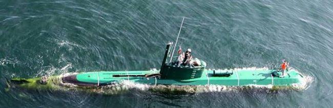Marineforum - Klein-U-Boot GHADIR (Foto: offz/FARS)