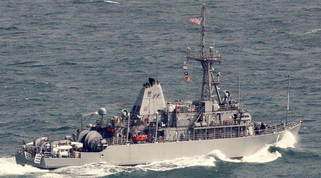 Marineforum - US Minenjagdboot der AVENGER-Klasse (Foto: Michael Nitz)